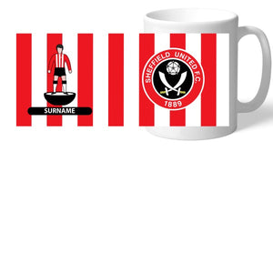 Sheffield United FC Player Figure Mug