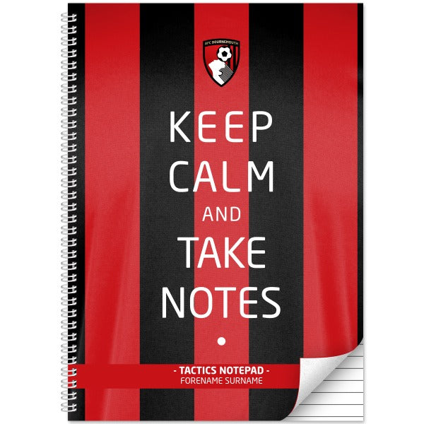 AFC Bournemouth Keep Calm Notebook