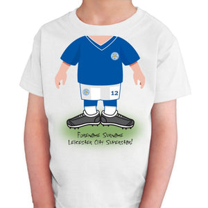 Leicester City FC Kids Use Your Head T-Shirt