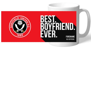 Sheffield United Best Boyfriend Ever Mug