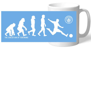 Manchester City FC Evolution Mug