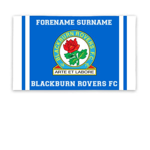Blackburn Rovers Crest 5ft x 3ft Banner