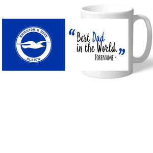 Brighton & Hove Albion FC Best Dad In The World Mug