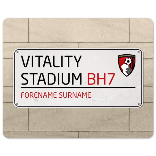 AFC Bournemouth Street Sign Mouse Mat