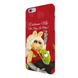 Disney The Muppets Kermit And Miss Piggy This Frog Is Mine iPhone 6+/6s+ Clip Case