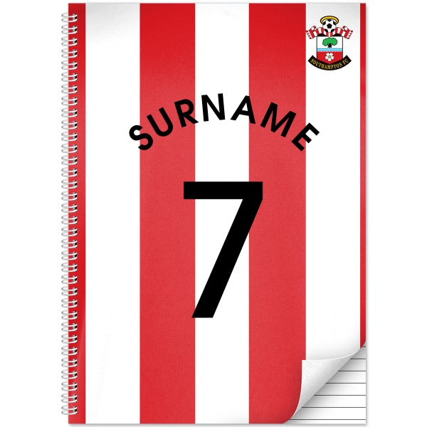 Southampton FC Shirt Notebook