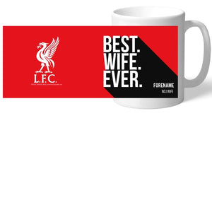 Liverpool FC Best Wife Ever Mug