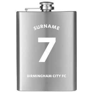 Birmingham City FC Shirt Hip Flask