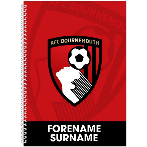 AFC Bournemouth Bold Crest Notebook