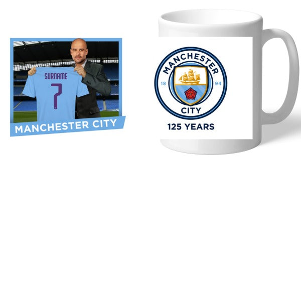 Manchester City FC Manager Mug