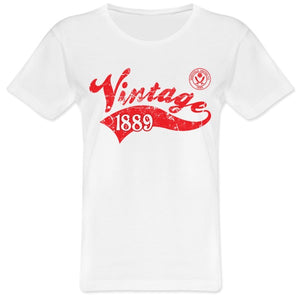 Sheffield United FC Ladies Vintage T-Shirt