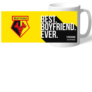 Watford FC Best Boyfriend Ever Mug