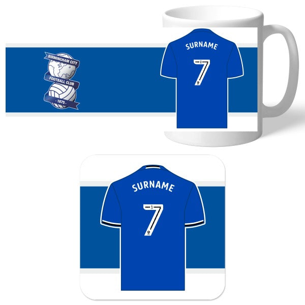 Birmingham City FC Shirt Mug & Coaster Set