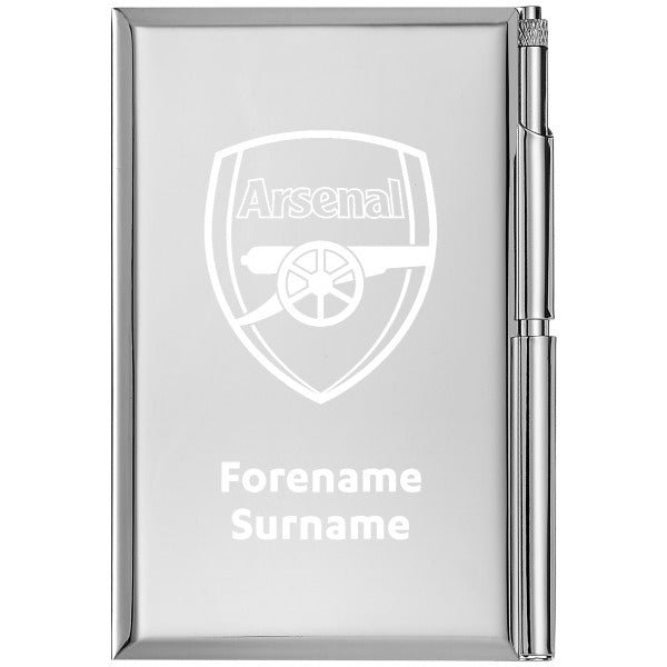 Arsenal FC Crest Address Book