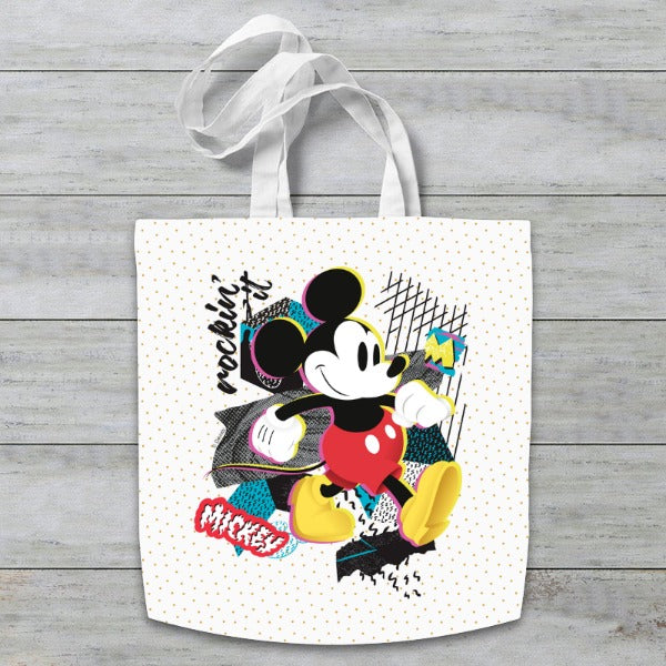 Disney Mickey Mouse Rockin' It Tote Bag