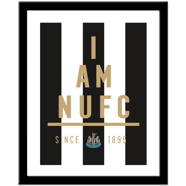 Newcastle United FC I Am Print