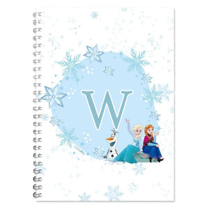 Disney Frozen Initial A5 Lined Notepad