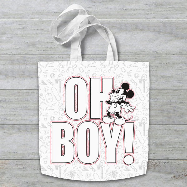 Disney Mickey Mouse Oh Boy! Tote Bag