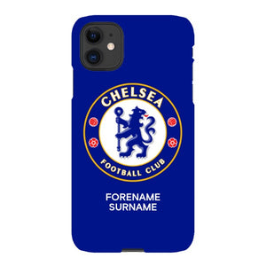 Chelsea FC Bold Crest iPhone 11 Phone Case