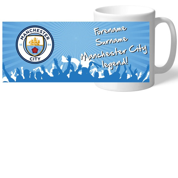 Manchester City FC Legend Mug