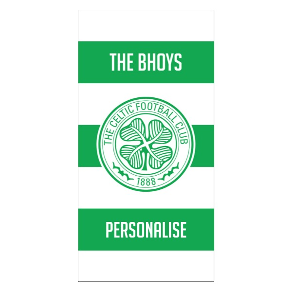 Celtic FC Stripes Design Towel