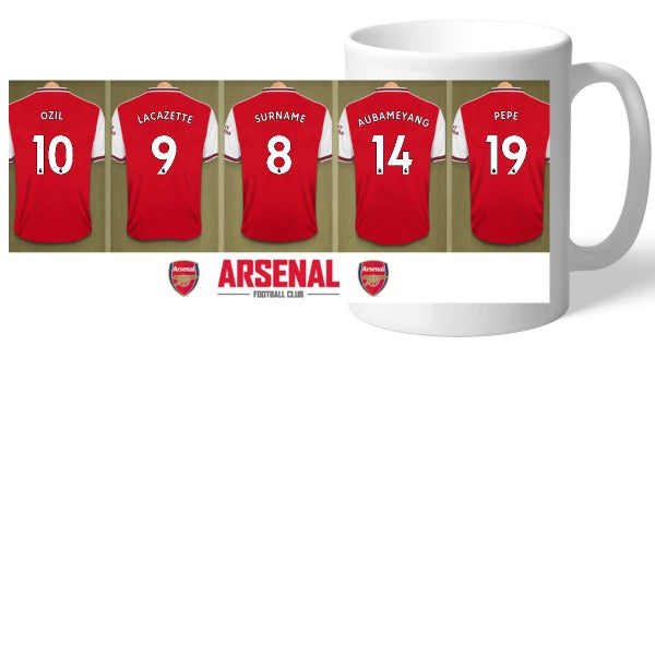 Arsenal FC Dressing Room Mug