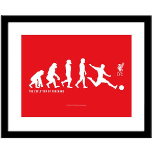 Liverpool FC Evolution Print