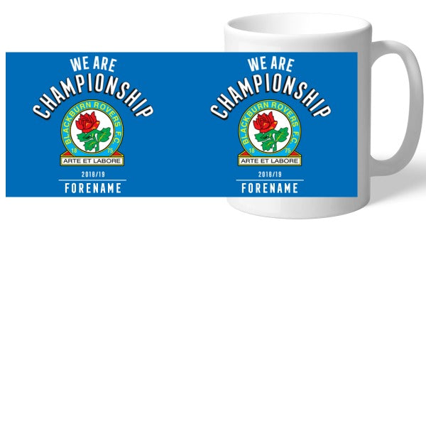 Blackburn Rovers FC We Are Championship Mug
