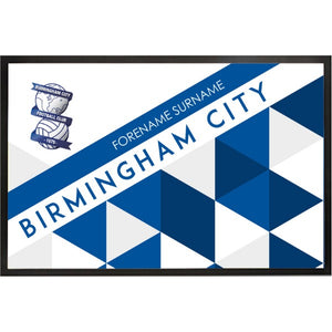 Birmingham City FC Patterned Door Mat