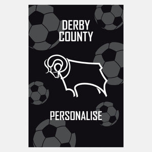Derby County FC - Crest - Blanket