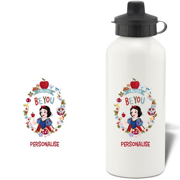 Disney Princess True Snow White Aluminium Water Bottle