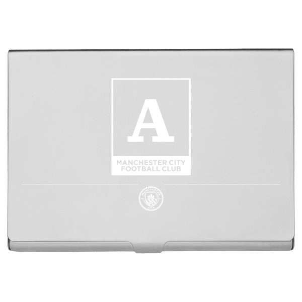 Manchester City FC Monogram Business Card Holder