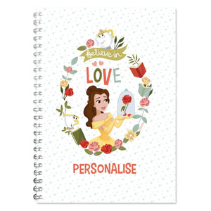 Disney Princess True Belle A5 Lined Notepad