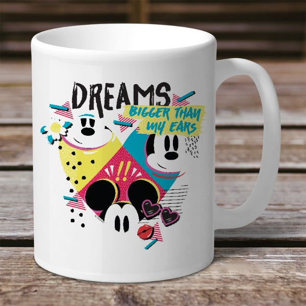 Disney Mickey Mouse Bigger Dreams Mug