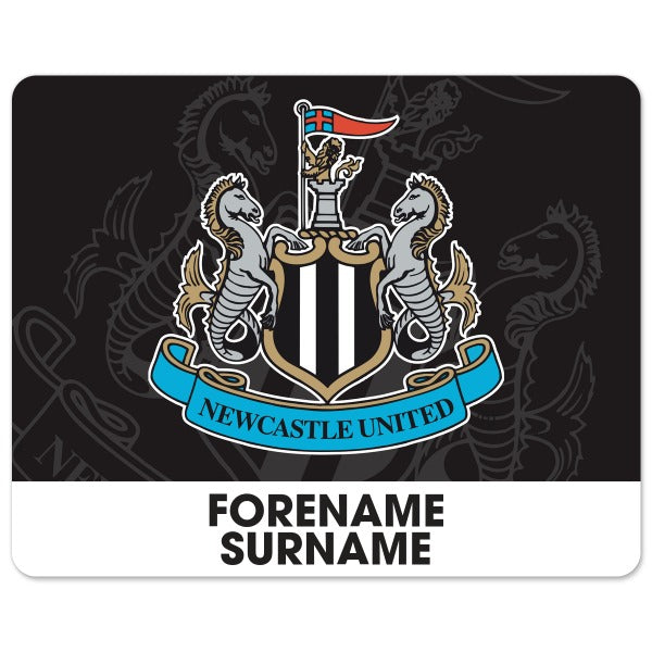 Newcastle United FC Bold Crest Mouse Mat