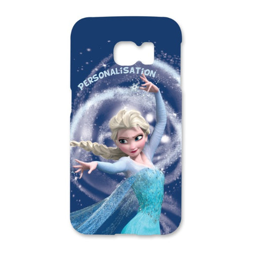Disney Frozen Elsa Snow Storm Samsung Galaxy S6 Edge Phone Case