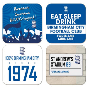 Birmingham City FC Coasters