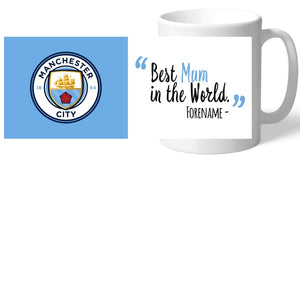 Manchester City FC Best Mum In The World Mug