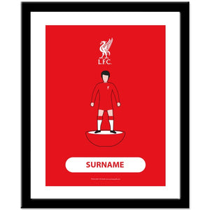 Liverpool FC Player Figure Print