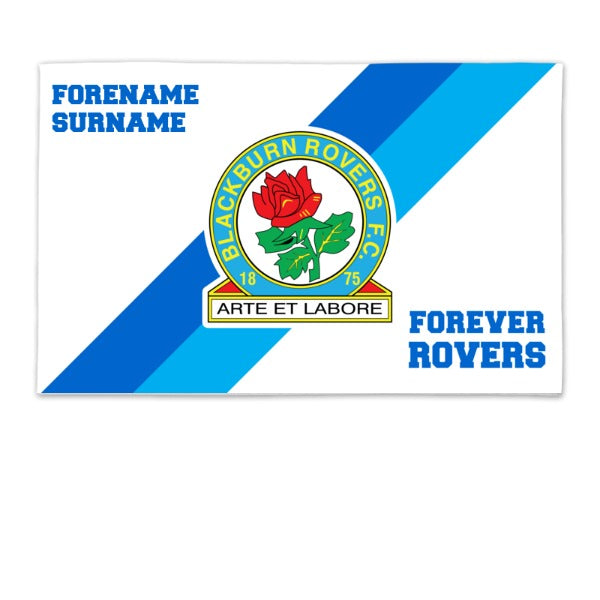 Blackburn Rovers Forever 8ft x 5ft Banner