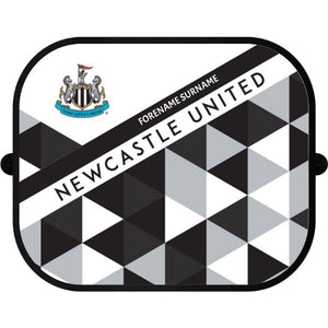 Newcastle United FC Patterned Car Sunshade
