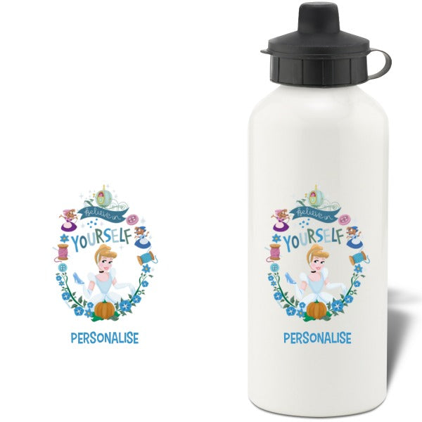 Disney Princess True Cinderella Aluminium Water Bottle