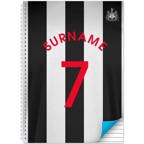 Newcastle United FC Shirt Notebook