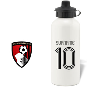 AFC Bournemouth Retro Shirt Water Bottle