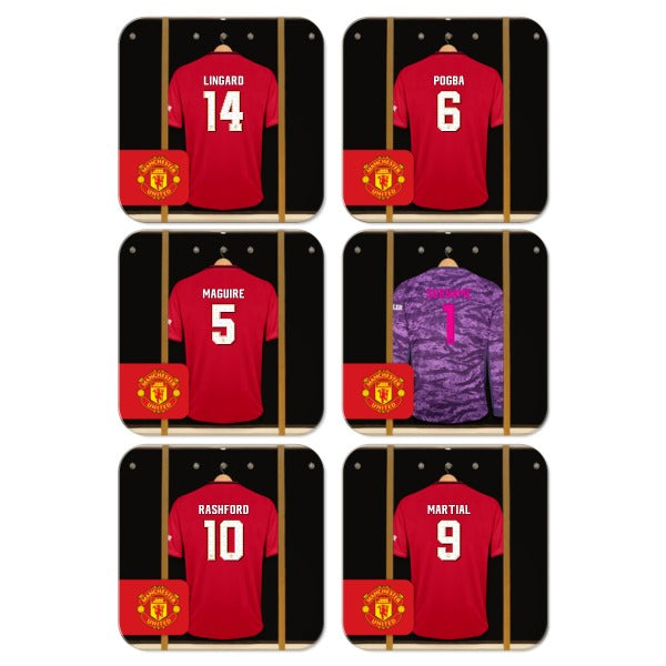 Manchester United FC Goalkeeper Dressing Room Coasters
