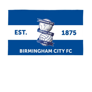 Birmingham City Supporters 5ft x 3ft Banner