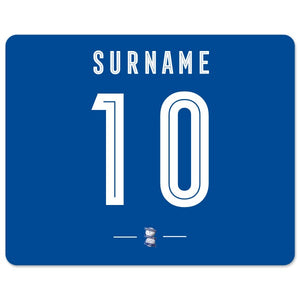 Birmingham City Retro Shirt Mouse Mat