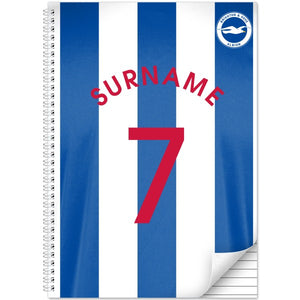 Brighton & Hove Albion FC Shirt Notebook