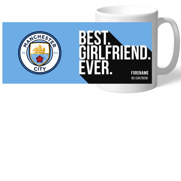 Manchester City FC Best Girlfriend Ever Mug