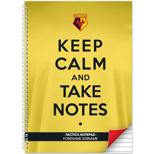 Watford FC Keep Calm Notebook